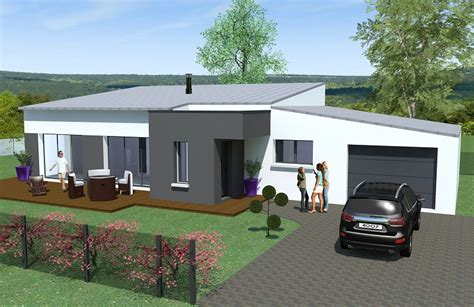 maison plain pied bouguenais maison moderne