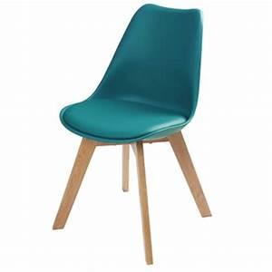Chaise Bleu Scandinave : chaise laquelle choisir maisons du monde ~ Teatrodelosmanantiales.com Idées de Décoration