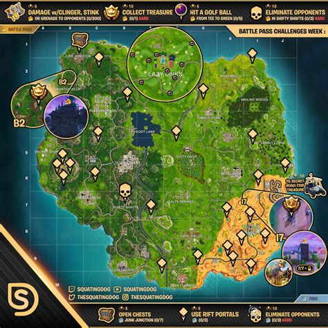 fortnite week 5 challenges season 5 week 5 challenges wheel of fortnite