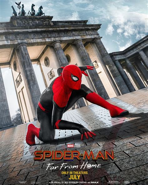 spider man   home  posters    european vacation collider