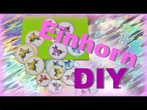 diy inspiration basteln diy einhorn basteln sticker selber machen ohne etiketten diy inspiration ideen