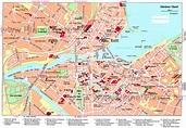 Street map Geneva Switzerland