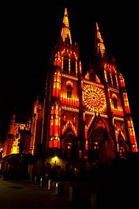 St Mary's Cathedral In Christmas Spirit Photograph by ...