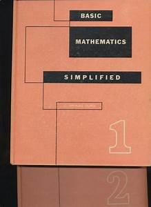 Vtg 1950 U0026 39 S Basic Math Simplified By C  Thomas Olivo Vol 1
