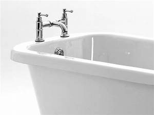 Freistehende Acryl Badewanne : freistehende badewanne derry aus acryl wei gl nzend oval eckig nostalgie ~ Sanjose-hotels-ca.com Haus und Dekorationen