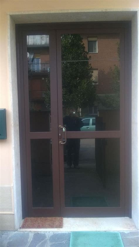 portoni ingresso condominio porte a vetro condominiali modena fb di bizzarri franco