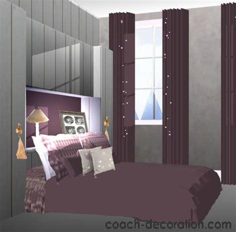 chambre grise et prune quelle décoration chambre prune
