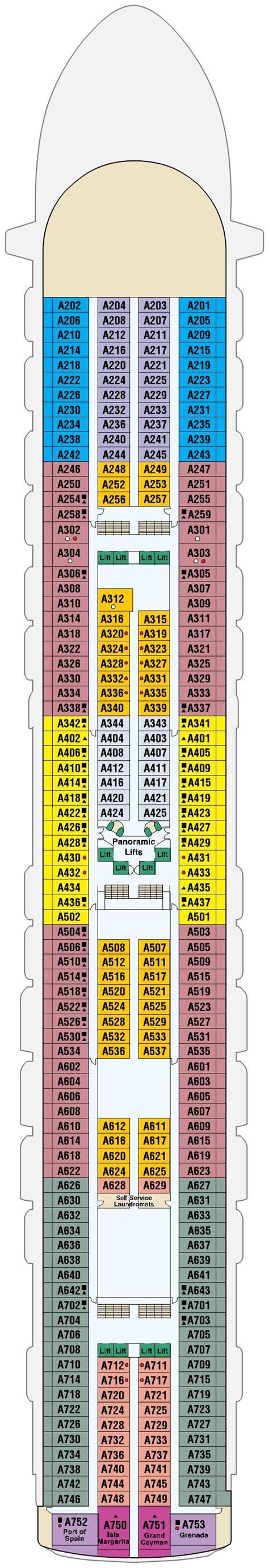 Princess Aloha Deck Plan by Cruises Aboard Emerald Princess Princess Cruises