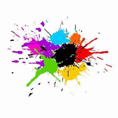 Splash Paint Colorful Vector Painting Svg Background