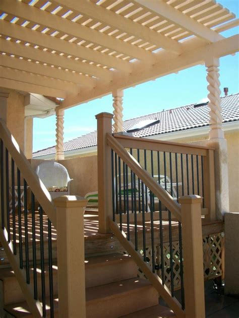 deck covers trellis colorado springs decks by schmillen