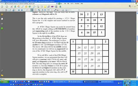 5x5 Magic Square Solver
