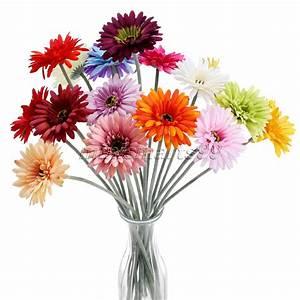 achetez en gros soie bouquets de mariage de marguerite en With decoration de bassin de jardin 16 marguerite bouquet fleur artificielle