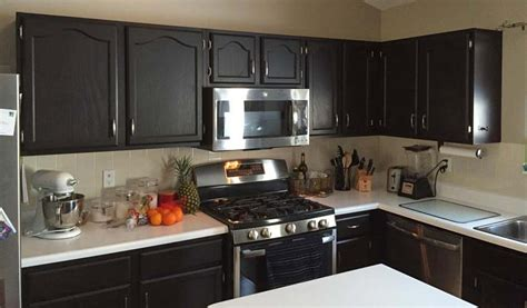 Kitchen Cabinets In Java Gel Stain  General Finishes