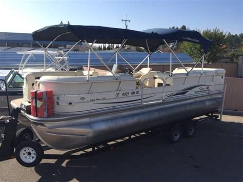 Tracker Boats For Sale In California by 1990 Tracker Barge Boats For Sale In Madera California