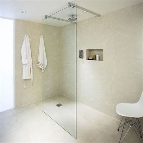 bathroom wall materials shower panels