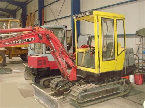takeuchi tb  tb mini kompaktbagger mini excavator  germany  sale  truck id