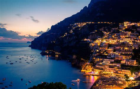 Amalfi Coast Italy Very Beautiful Seaside Panorama