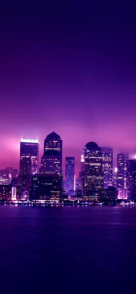 purple pastel aesthetic hd iphone wallpapers in 2020