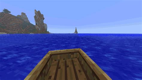 Minecraft Boat Gif minecraft boat gif find on giphy