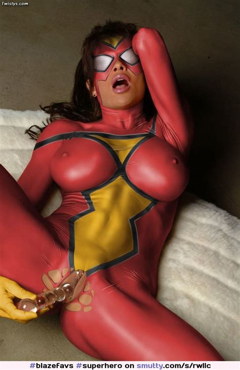 Spider Woman Superherodildopussymasturbationporn