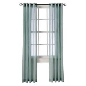 threshold linen grommet sheer curtain panel target