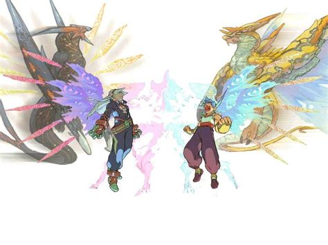 It features many of the same gameplay elements from the third game, but improves them all drastically. Breath of Fire IV Wallpaper by hernanff7 on DeviantArt
