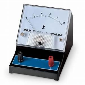 Nasco Student Meter - Range: 0-10V, Single Scale with DC