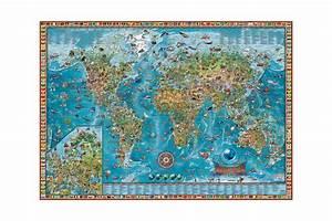 Carte Du Monde Metallique : carte des merveilles du monde ~ Teatrodelosmanantiales.com Idées de Décoration