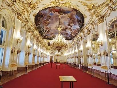 Palace Schonbrunn Interior Vienna Austria Inside Schloss