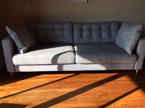 Turning The Ikea Karlstad Sofa Into A Mid-century Modern