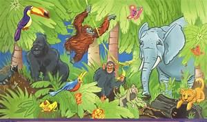 Jungle Theme Wallpaper - WallpaperSafari