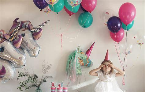 décoration anniversaire thème licorne organiser un anniversaire licorne minireyveminireyve