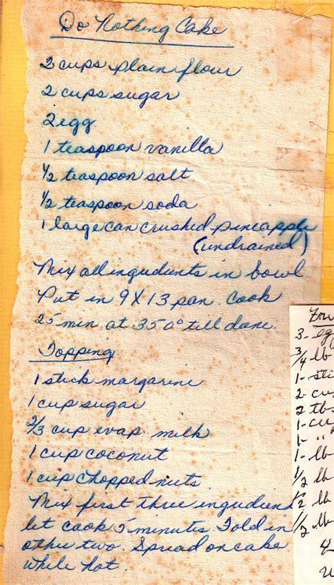 cake food hand written recipes dessert
