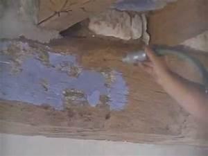 Poutre En Chene : decapage par aerogommage sablage de poutres en chene youtube ~ Premium-room.com Idées de Décoration