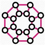 Icon Digital Network Transformation Icons Networks Data
