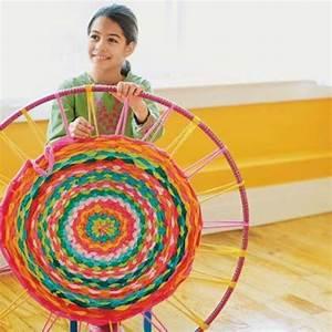 Teppich Selber Weben : teppich weben mit stoffresten teppich h keln hula hoop t shirt teppich und hula ~ Orissabook.com Haus und Dekorationen