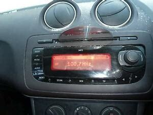 seat ibiza 6j radio 2009 seat ibiza 6j radio cd player unit 6j0035153b 2008 2012 ebay