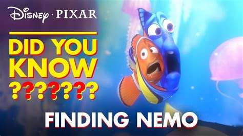 Fun Facts & Easter Eggs From Finding Nemo