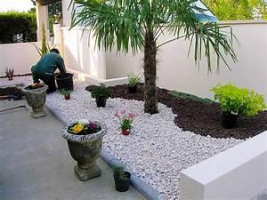 conseils pour bien agencer le jardin With idees amenagement jardin exterieur 1 creer un jardin avec des cactus et des palmiers