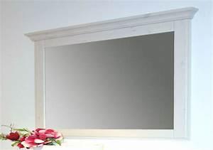 Spiegel Mit Weißem Rahmen : massivholz spiegel mit holzrahmen wandspiegel 180x100 kiefer massiv wei ~ Indierocktalk.com Haus und Dekorationen