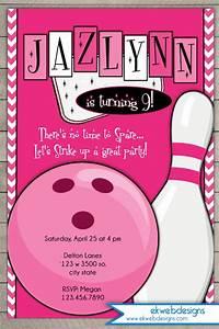 Free Printable Housewarming Invitations Cards Custom Bowling Party Birthday Invitation Printable