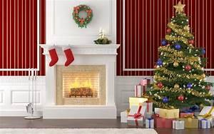 Christmas fireplace mantel decoration ideas for home made ...