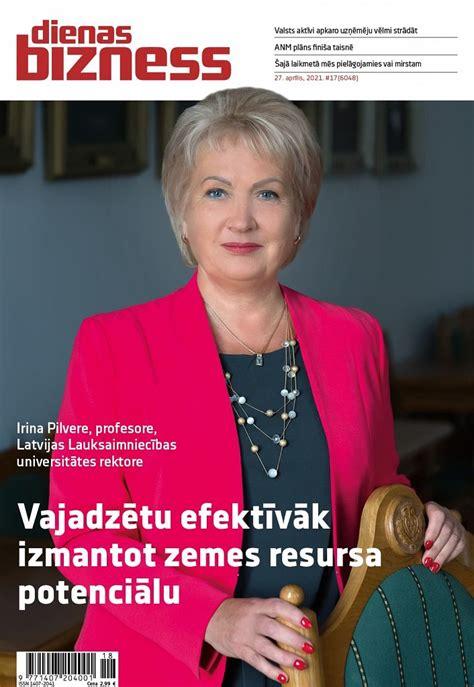 Portrets: Rolling vadītāja Ginta Biseniece :: Dienas Bizness