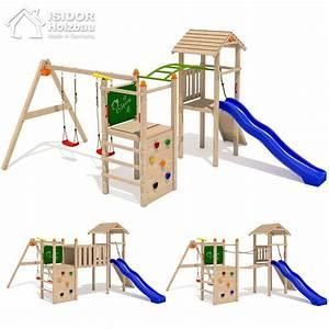 Spielhaus Garten Mit Rutsche : isidor bali loo spielturm spielhaus kletterturm rutsche ~ Watch28wear.com Haus und Dekorationen
