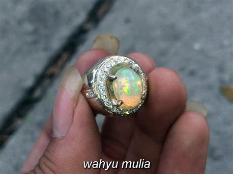 batu cincin kalimaya kembang jarong asli kode 797