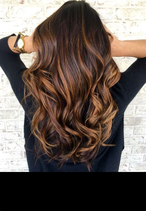 Rich Brown Hair With Caramel Highlights by Rich Caramel Browns Pinteres