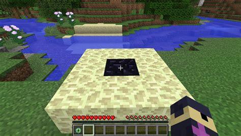 minecraft glowstone l no mods portal building minecraft