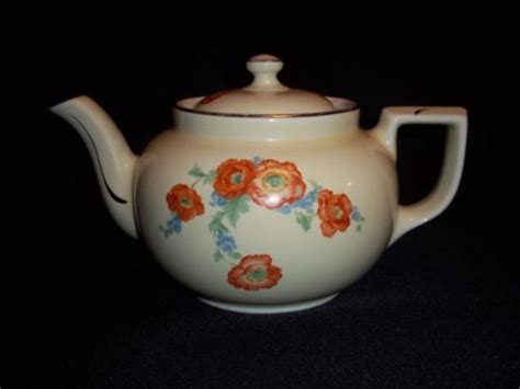 dinnerware tea orange poppy pin by aistars on mystic spirit vintage shoppe