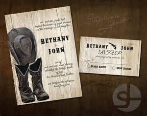 cowboy wedding invitations country wedding invitation print printable invitation instant cowboy boots and