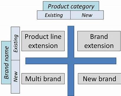 Brand Strategies Four Strategy Branding Matrix Category